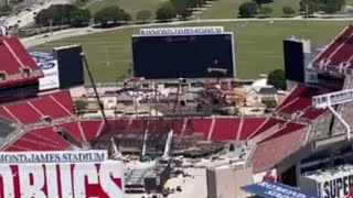 Wrestlemania 37 Stage First Look