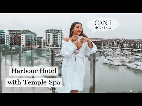 SPA DAY AT THE HARBOUR HOTEL SOUTHAMPTON WITH TEMPLE SPA | Travel Vlog | Mona's Eyes Beauty