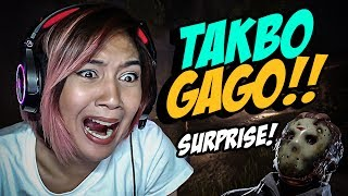 TAKBO GAGOOO!!!!!! - Friday The 13th The Game Funny Moments