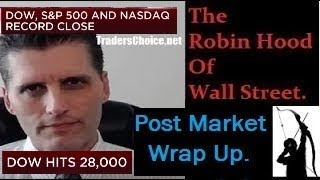 ((Free-Fall)) DOW 28K.. New Record Highs! As U.S. Economy Collapses. By Gregory Mannarino