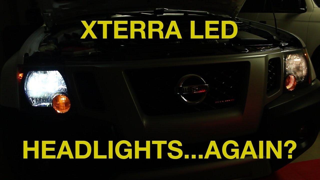 Xterra LED Headlight Installation