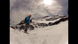 Monte Perdido por la cara norte en esquís