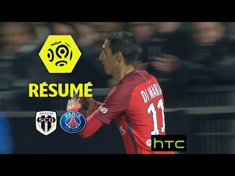 Angers SCO - Paris Saint-Germain (0-2)  - Résumé - (SCO - PARIS) / 2016-17