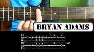 Jak zagrać - Bryan Adams - Everything I Do - Krok po kroku - Lekcja HD