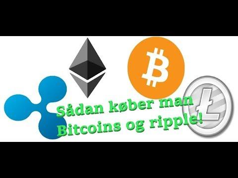 Hvordan Køber Man Bitcoin Ripple Tron GUIDE!