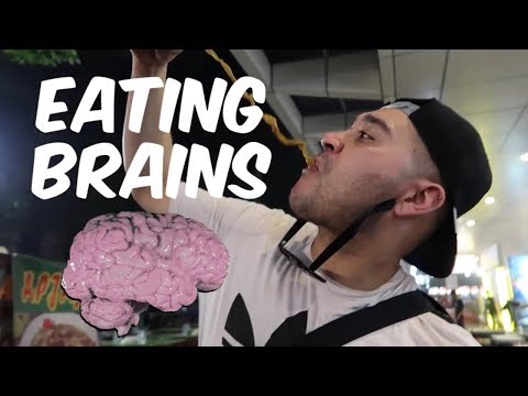 Eating Brains in Jakarta, Indonesia // Travel Vlog