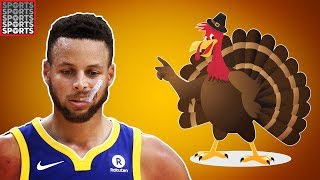 Sports Icons To Invite & Not Invite To Thanksgiving Dinner
