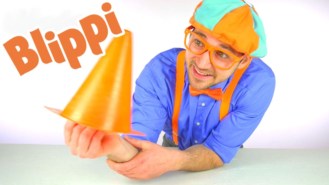 Blippi  Learning Construction Cones | 1 Hour of Blippi Videos | Educational Videos For Toddlers