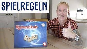 Rummikup Spielregeln - Schnelle Kurzanleitung (Jumbo / Schmidt / Piatnik Spiele)   thajo