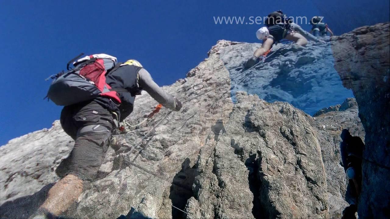 Klettersteig Rakousko : Via ferrata klettersteig königsjodler Österreich rakousko youtube