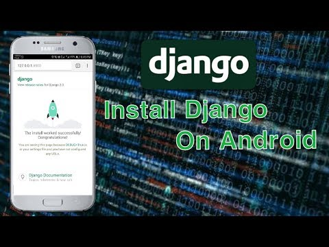 How To Install Django On Android