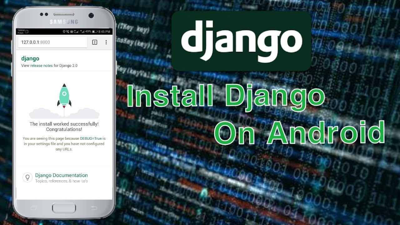 How To Install Django On Android [With Pictures] For Beginners
