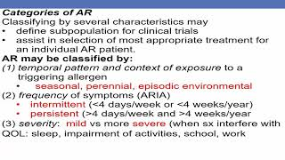 Video Treatment of Rhinitis (Dykewicz) download MP3, 3GP, MP4, WEBM, AVI, FLV Agustus 2018