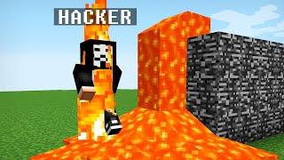 HOW TO TROLL A HACKER IN MINECRAFT BATTLE NOOB VS PRO trolling