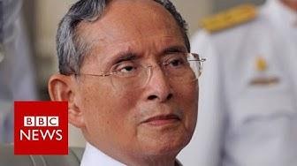 Thailand's King Bhumibol dies at 88 - BBC News