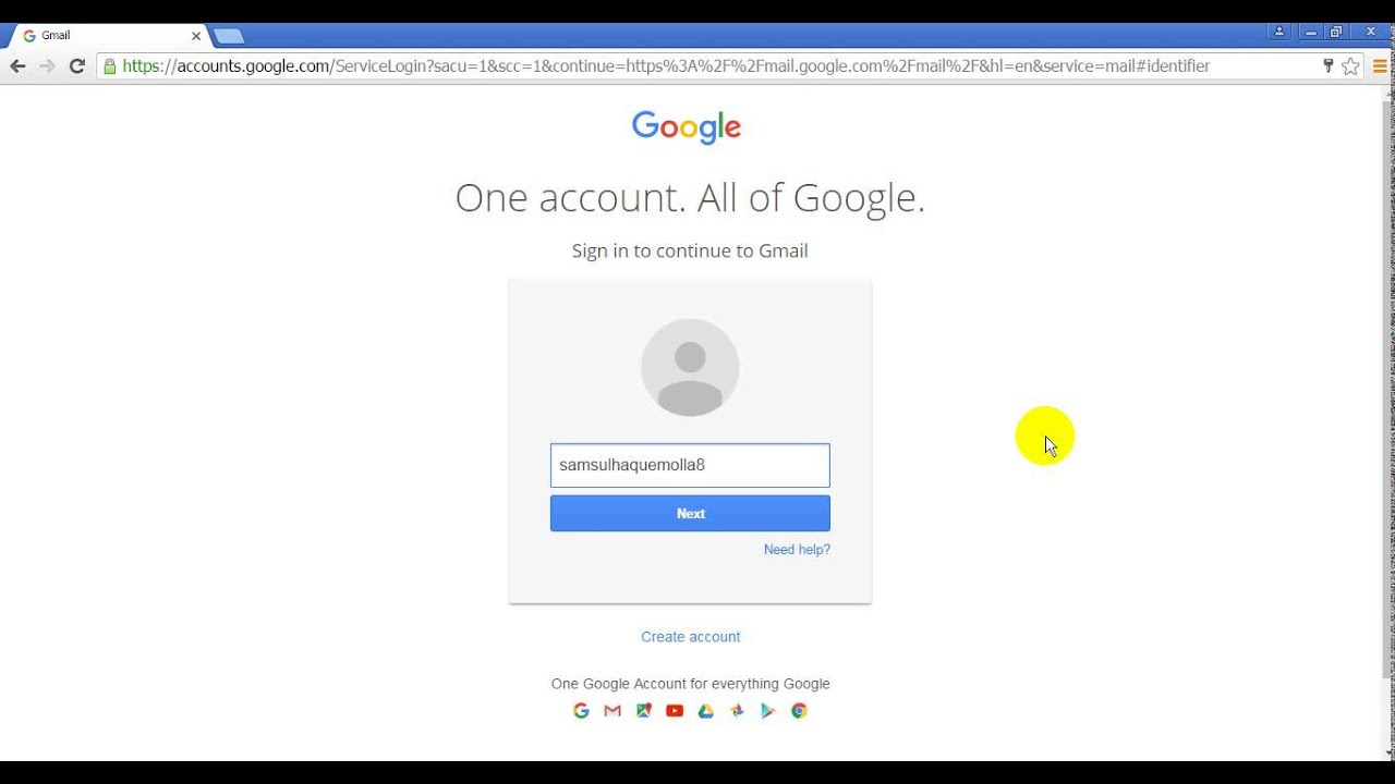 How to Different Email Login From Gmail Account