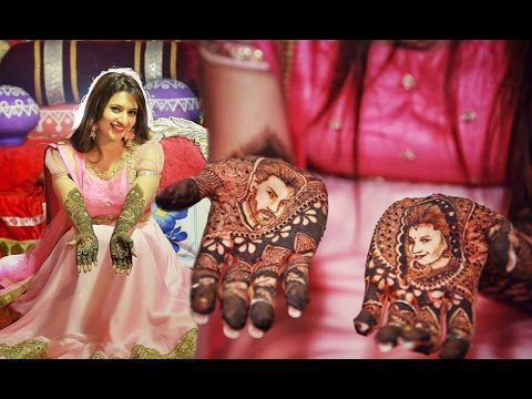 Divyanka Tripathi Mehndi Ceremony : Divyanka tripathi wedding mehendi ceremony youtube