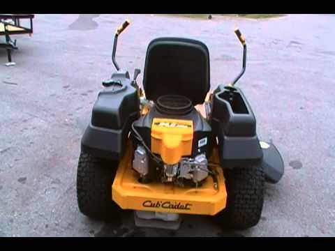 Cub Cadet Rzt 50 Zero Turn Lawn Mower Kawasaki Engine