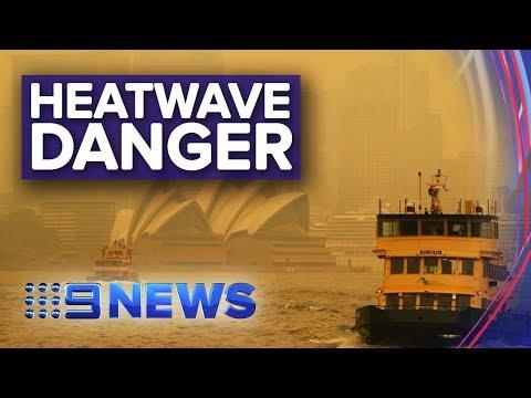 Heatwave Creates Dangerous Conditions Across NSW | Nine News Australia