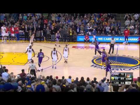 Klay Thompson 37pt 3rd Quarter CSN Bay Area feed 12315