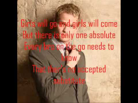 barney stinson suit song with lyrics mp3 link