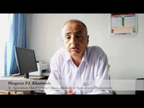 Interview with Bhagawan Pd Khatiwada, Ministry of Agricultural Development