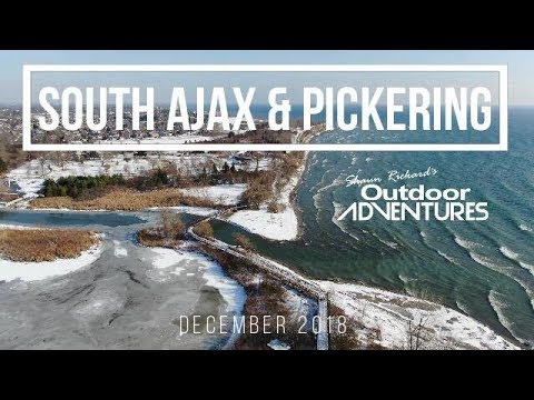 Soaring Over South Ajax & Pickering In Ontario, Canada - First Snow