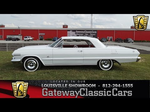 1963 Chevrolet Impala SS - Louisville Showroom - Stock # 1620