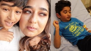 WE HAD TO GO TO EMERGENCY ROOM #Dailyvlog| Indian Mom Vlogger