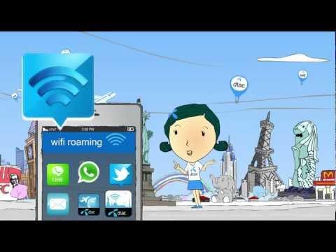 วิธีการใช้งาน dtac wifi roaming