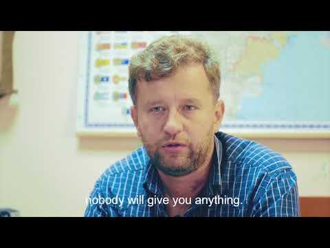 Олександр Чорнобай, зерноочисна техніка, Кремінна / Oleksandr Chornobai, grain cleaning, Kreminna