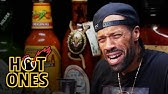 Redman Wilds Out Eating Spicy WingsHot Ones