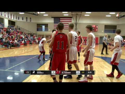 2017 Boys Basketball: Manila at Altamont