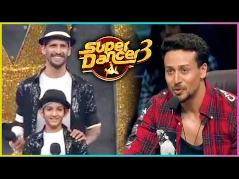 Super Dancer Chapter 3 : Tiger Shroff Learns Dance Moves From Gourav & Amardeep