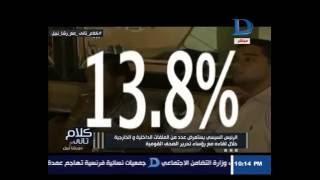 حوار وزير التعليم العالي مع رشا نبيل في كلام تاني حلقة 25-8-2016