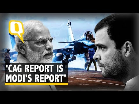 'Chowkidar Auditor General': Rahul Slams CAG Report on Rafale