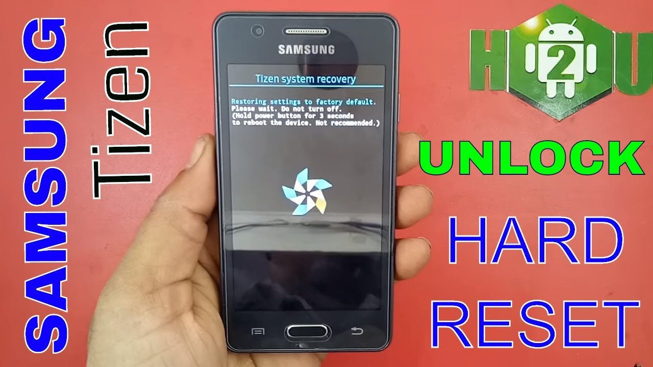 Samsung Z2 Hard Reset With Jio Calling Solution