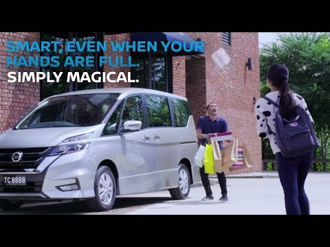 (Open For Bookings) All-New Nissan Serena – Hands-Free Dual Power Sliding Door