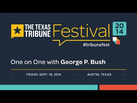 TribFest: One-on-One with George P. Bush