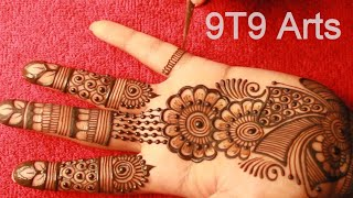Arabic Mehndi Design for Hand  Simple & Easy Mehndi Design  MehndiDesigns  Mehendi Beginners Mehendi
