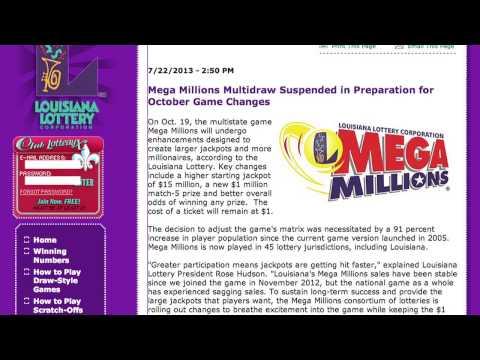 Media - Videos - Mega Millions - Louisiana Lottery