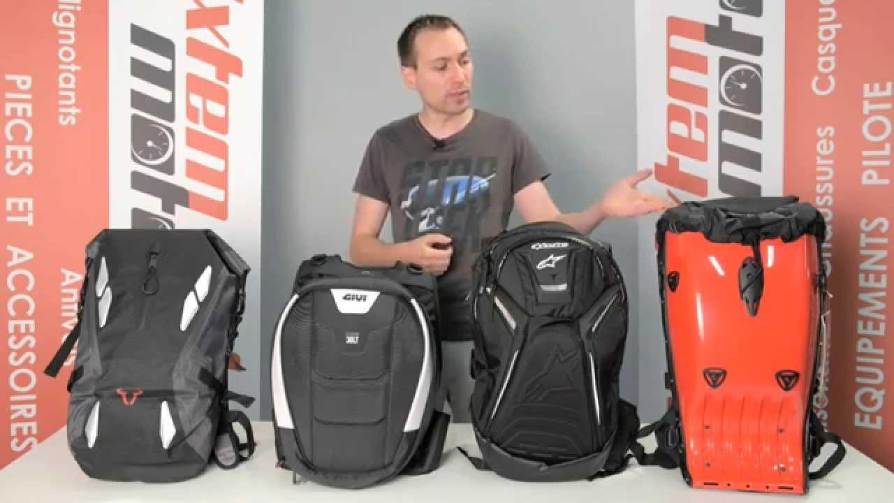 bc40948d63 4 sacs à dos moto présentés par IXTEM-MOTO - YouTube