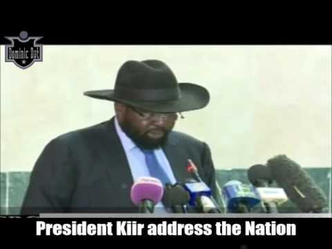 South Sudan News -President Kiir Address to the Nation - 12/14th/2016