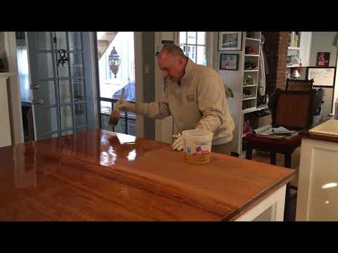 HOW TO APPLY POLYURETHANE TO WOOD