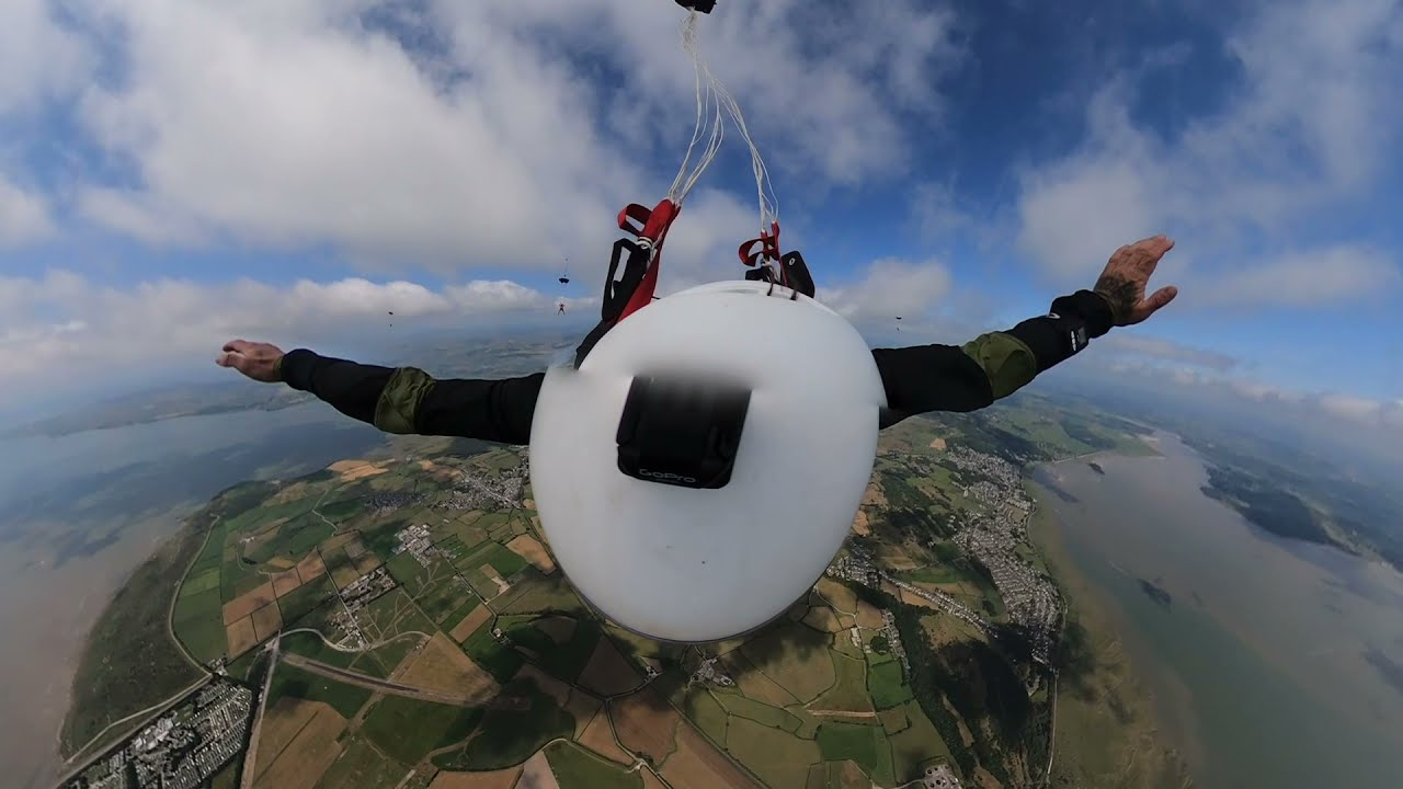 Skydiving with the lads at Skydive Northwest