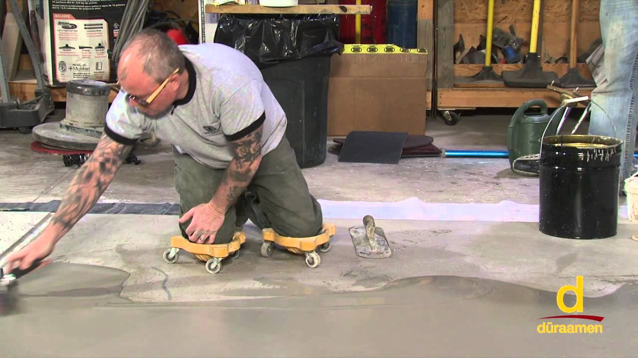 How To Install Concrete Overlays Micro Toppings Skim