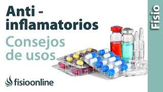 Antiinflamatorios, analgésicos y corticoides - Consecuencias negativas de su uso.
