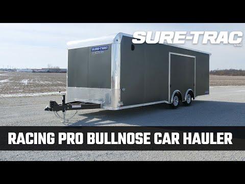 Sure-Trac   Racing Pro Bullnose Car Hauler - Sure-Trac