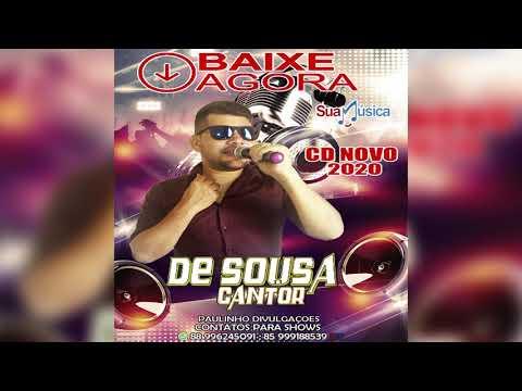 DE SOUSA CANTOR CD NOVO VERÃO 2020