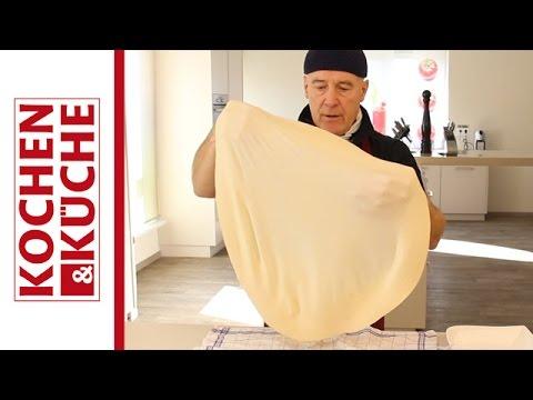 Gezogener Strudelteig selber machen | Kochen und Küche